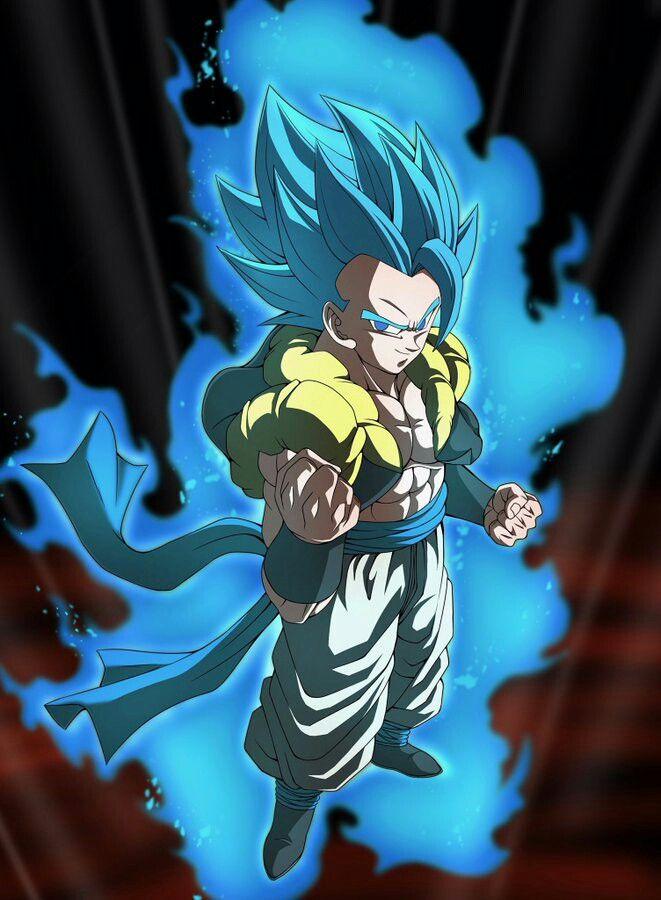 Gogeta Super Saiyajin Blue Full Power Dragon Ball Super Artwork Dragon Ball Super Whis Dragon Ball Super Goku
