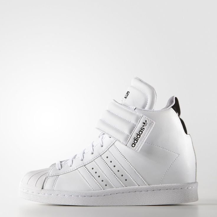 adidas Superstar Up Strap Shoes - White // adidas US