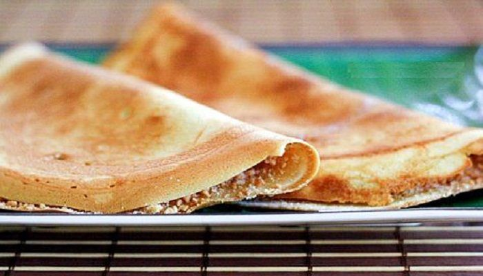 Coconut Crepes (Apam Balik).  You will find that most. Asian desserts favour coconuts as the main ingredient due to its rich flavourful taste. And such choice is really approved!