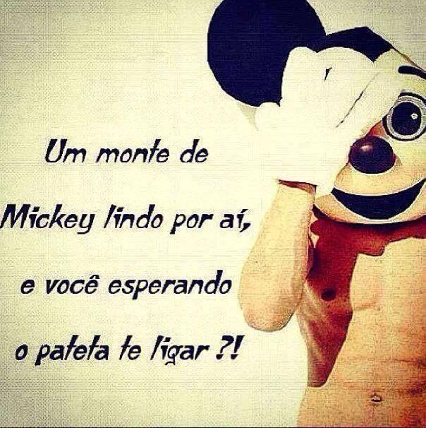 Mickeys e Patetas...