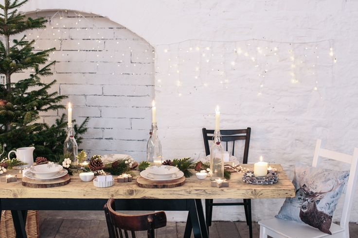 #NordicChristmas: for a classic Christmas with a fresh twist, go Scandanavian! Bring the outdoors in this #Christmas with natural ornaments, decorations, soft cushions and throws!