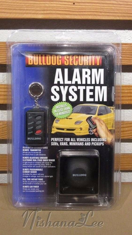 New BullDog Security Alarm System for Cars, SUV's, Vans, MiniVans & Trucks…