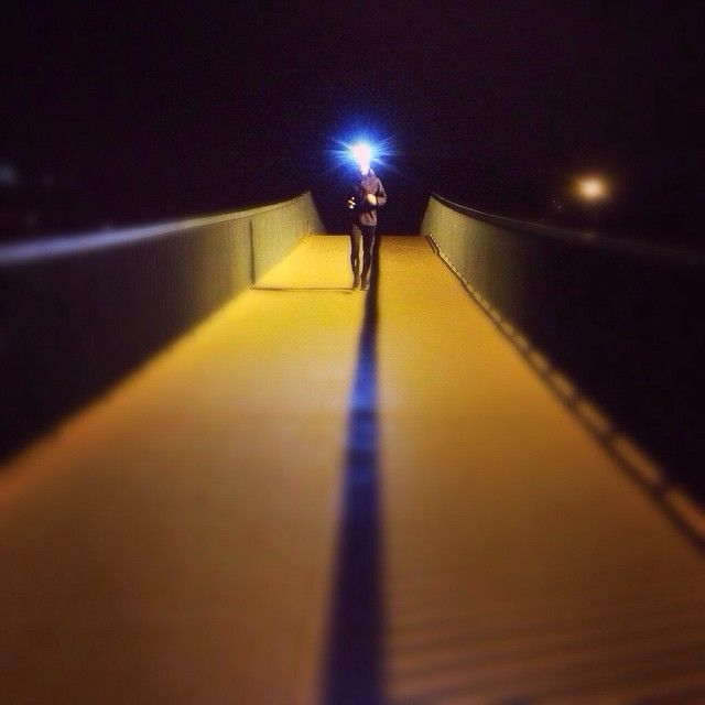 Taking the #night by storm. Here's Lucie Zona leading the way in her #vivobarefoot #shoes