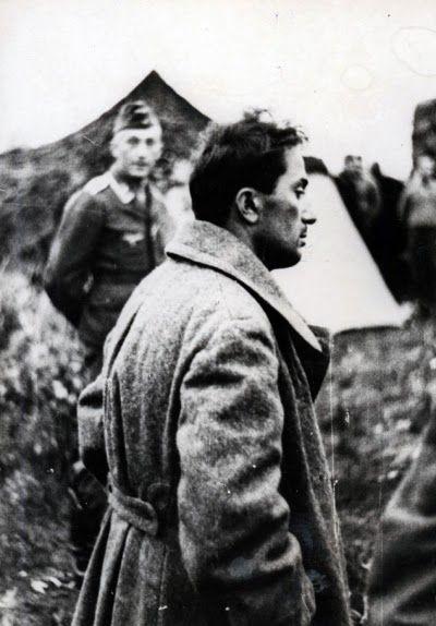 Stalin's son Yakov Dzhugashvili captured by the Germans, 1941 (4)