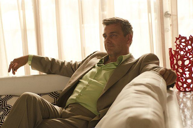 Isaak Sirko played by Ray Stevenson on Dexter