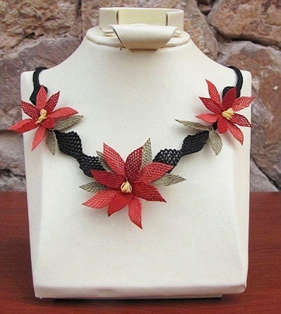 Authentic Anatolian Needle Lace Pure Silk Sevda by ELITHANDICRAFT, $59.00