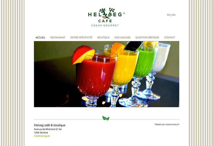 Nouveau restaurant végétarien à Genève proposant également une boutique Vegan. http://www.helveg.ch