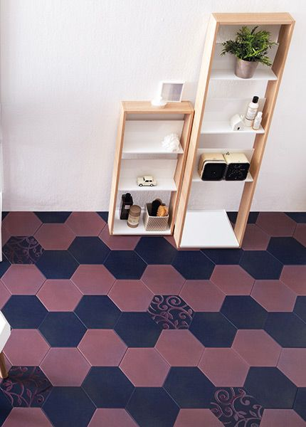 No 1723 Making a statement with hexagons!