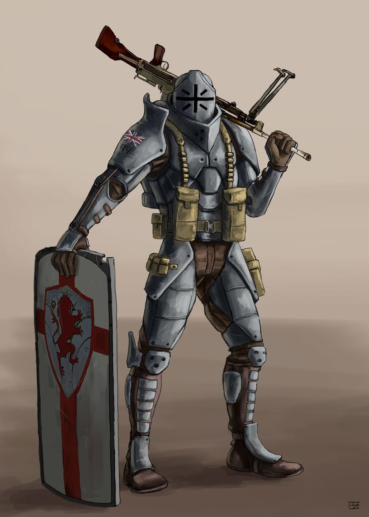 ArtStation - Dieselpunk Knight, Paul Rebar