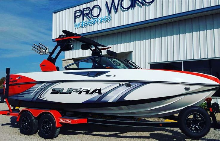 Very Nice 2016 Supra SC400 with 450hp and a Indmar 6.2 Raptor 400 Engine…