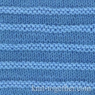 Knitting Extra Stitch Each Row : 17 Best images about Knit and purl stitch patterns on Pinterest Stitches, C...