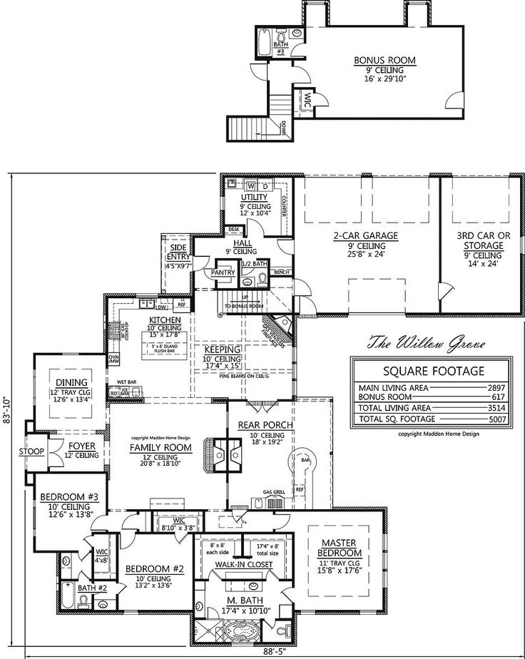 The 25 best madden home design ideas on pinterest acadian homes ranch floor plans and 4 - Madden home designs ...