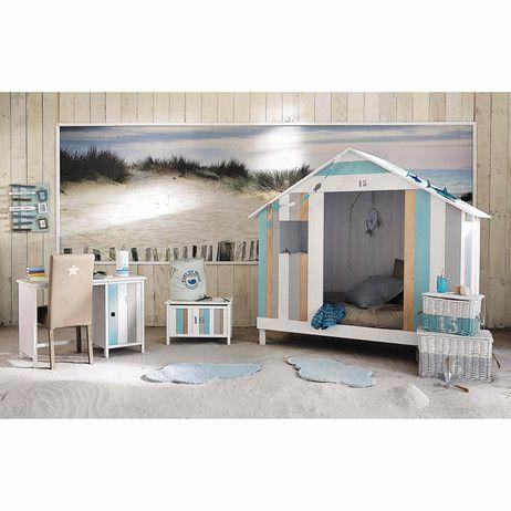 Lit cabane enfant blanche Océan | Maisons du Monde