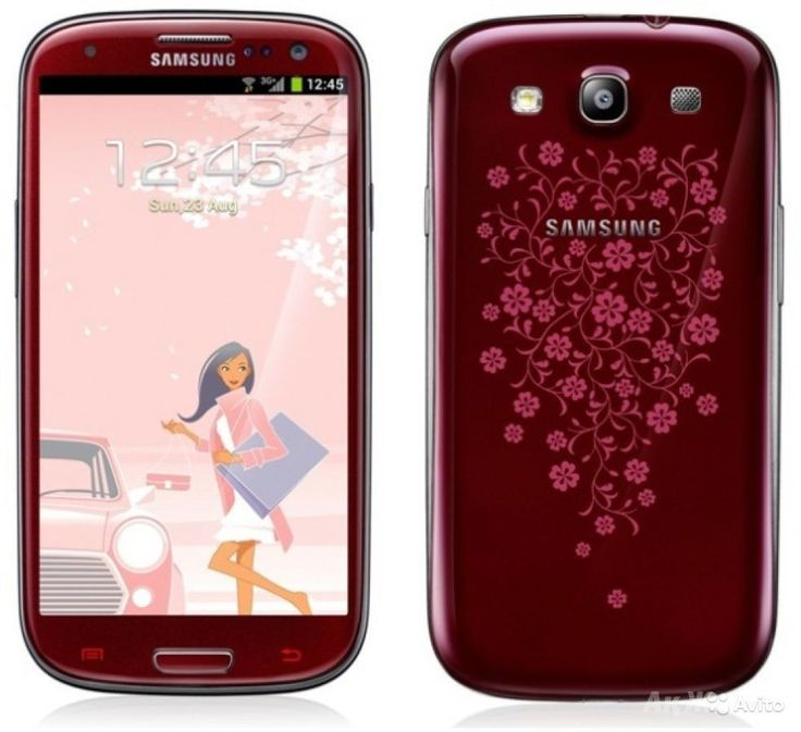Samsung I8200 Galaxy S III Mini VE Red La Fleur 16GB 3G Android Phone Get yours here http://www.ezonephone.com/