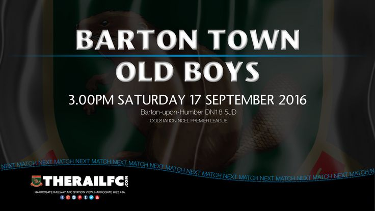 Next Match: Barton Town Old Boys    Away fixture in the NCEL Premier League    @therailfc @BartonTownOB