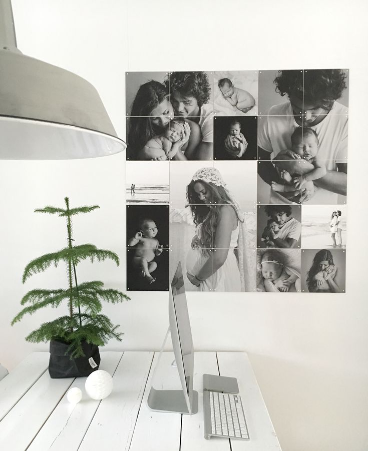 Laura created this beautiful Black&White IXXI collage; you can create your…