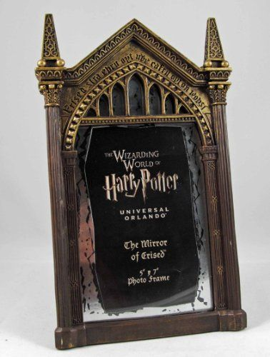 Harry Potter Mirror Of Erised 5x7 Photo Frame - Who or what will be your deepest desire?