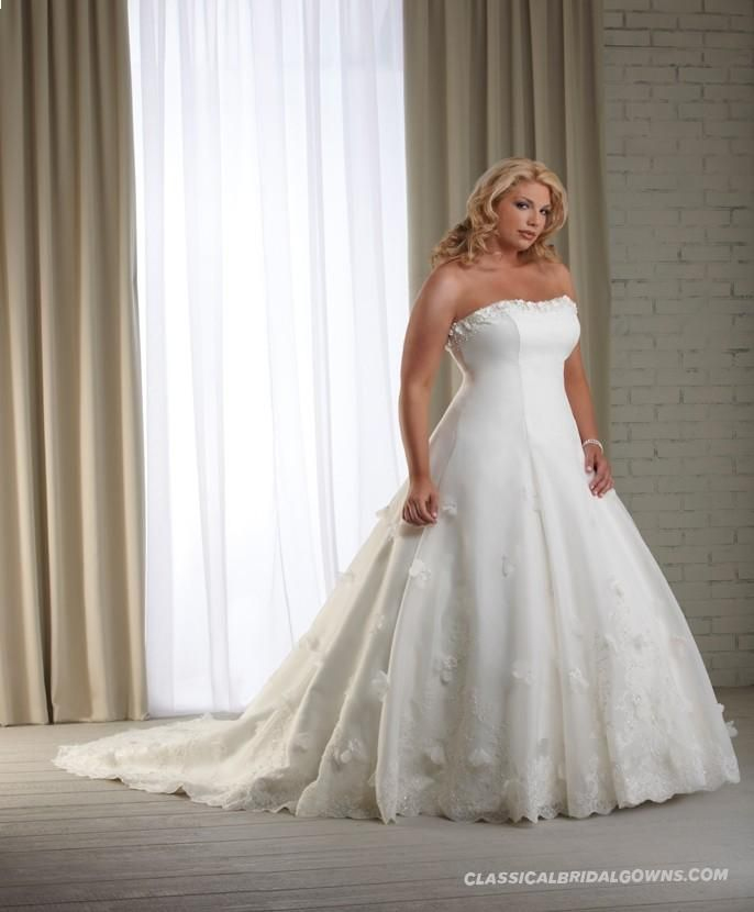 Plus Size Princess Wedding Dresses
