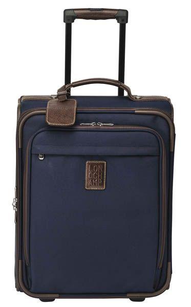 Valise: Décembre 2012 - Valise cabine Boxford, Longchamp. DR / Suitcase: December 2012 - Boxford cabin suitcase, Longchamp. DR @plumevoyage  #valise #suitcase #voyage #travel #plumevoyage #longchamp #boxford