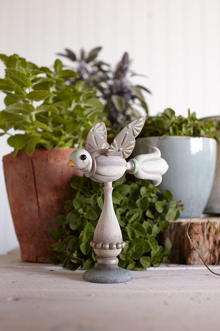 Fresh new garden decor items from Jim Shore.