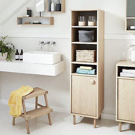 buy design project by john lewis rectangular bathroom wall shelf from our bathroom shelves range at john lewis - Bathroom Cabinets John Lewis
