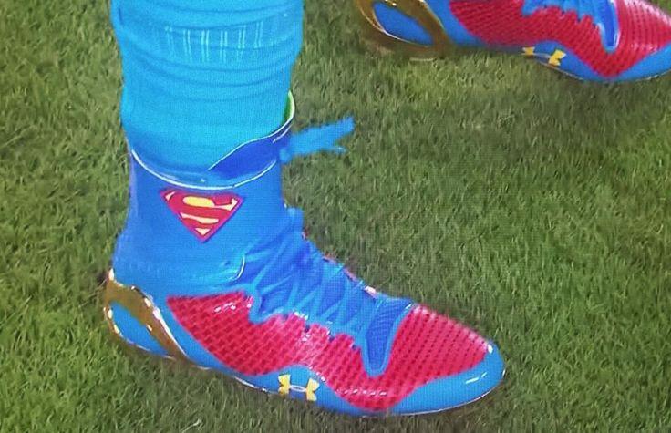 Super Man Cam Newton Cleats