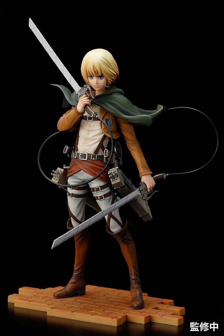 Armin arlert the kind hearted genius tactician from attack on titan is now available