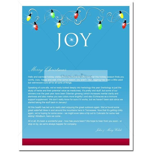 Free Holiday Newsletter Templates For Microsoft Word Image Gallery