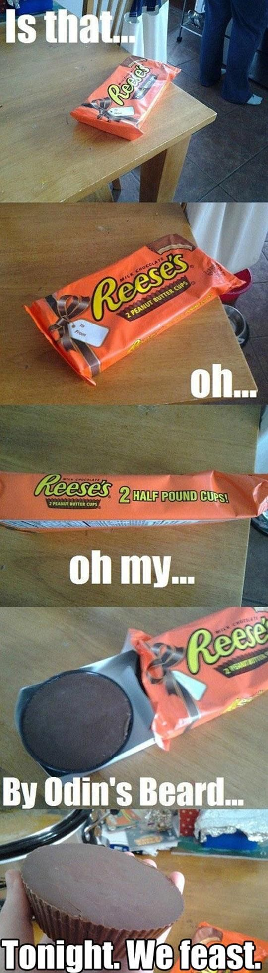 My friend and I bought one of these for another friend. The next day, we found out she was allergic to peanut butter (not severely, but severely enough to keep the candy).