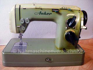 Anker Automatic RZ Flachbett mit Schablonen, Hersteller: Anker-Werke Bielefeld (Bilder: I. Naumann)