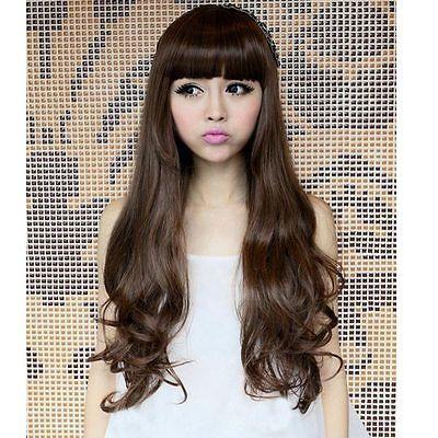 New Hot Women Girls Sexy Charming Long Beauty Fashion Curly Full Wavy Hair Wigs | eBay