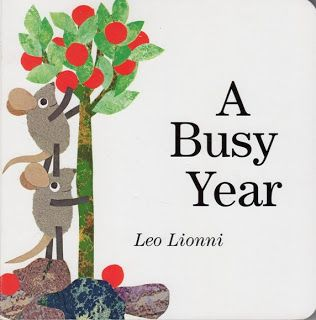 A Busy Year by Leo Lionni ~ Seasons & Months Printables from StartsAtEight