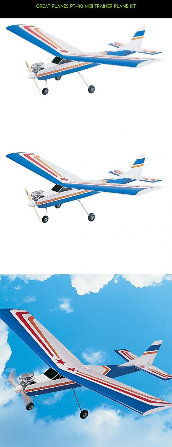 Great Planes PT-40 MKII Trainer Plane Kit #fpv #plans #drone #kit #products #tech #kit #shopping #parts #racing #great #gadgets #camera #planes #technology