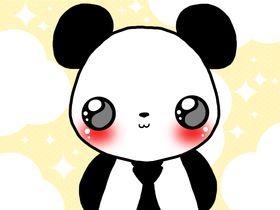 Kawaii Panda   kawaii panda photo: kawaii panda 42259-kawaii-dress-panda.png
