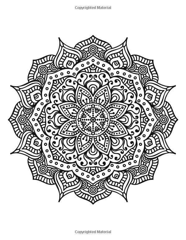 The worlds best mandala coloring book a stress management coloring book for adults amazon