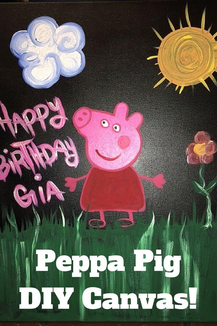 The 25+ best Peppa pig painting ideas on Pinterest | Peppa pig ...