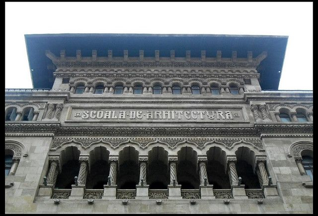 Bucharest - Romanian Institute of Architecture Palace - Arh. Grigore Cerchez