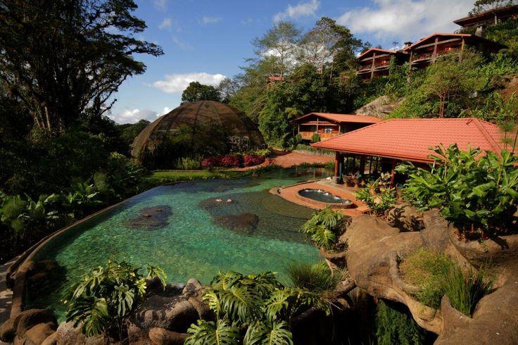 Poas! Vulcanoes! Amazing hotels. #costarica