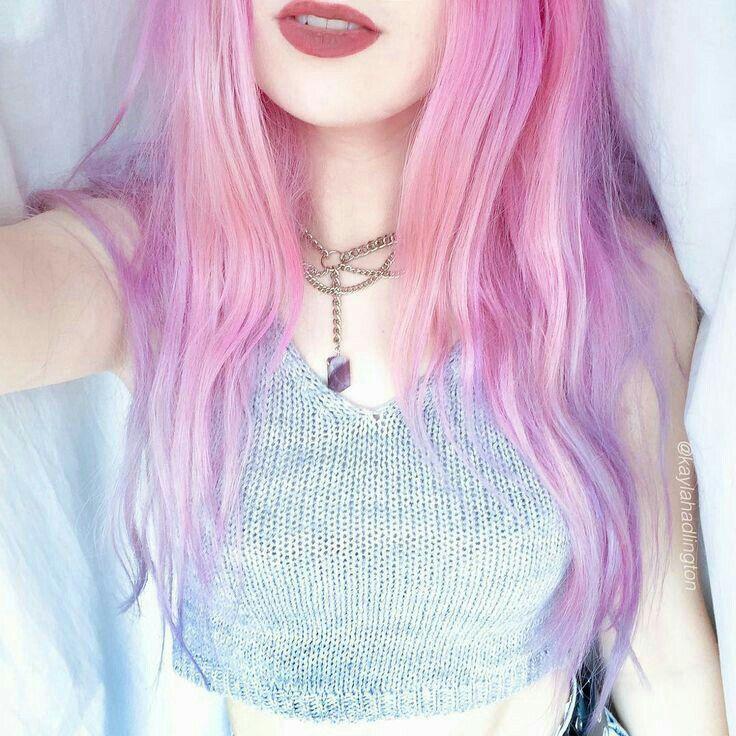 Nice Girl Pink Hair Hair Styles Hair Color