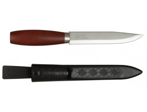 Morakniv Classic Craftsmen 611 Utility Knife with Carbon Steel Blade and Finger Guard, 3.9-Inch * Want additional info? Click on the image. http://www.amazon.com/gp/product/B00E6OOK0C/?tag=gadgets3638-20&pno=061016225557