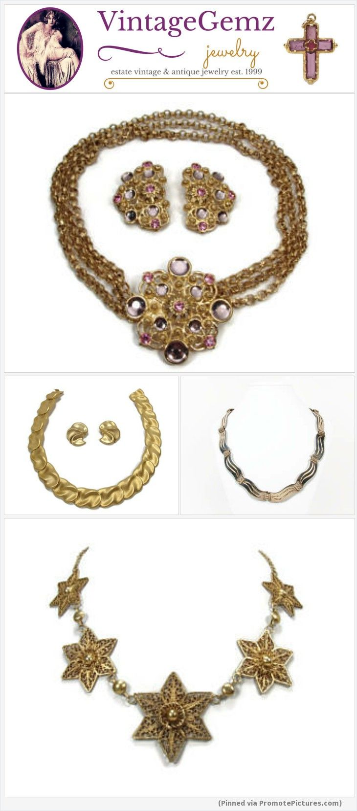 Vintage costume and fine jewelry for sale at VintageGemz! Shop now! #vintage #jewelry #jewellery #estate #costumejewelry #finejewelry #necklaces #etsy https://www.vintagegemz.com/?from_dashboard=https%3A%2F%2Fwww.etsy.com%2Fyour%2Fshops%2Fme%2Fpattern%2Fhome%3Fref%3Dseller-platform-mcnav