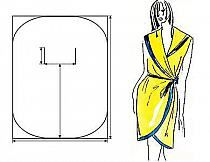 moja sukienka- wykrój