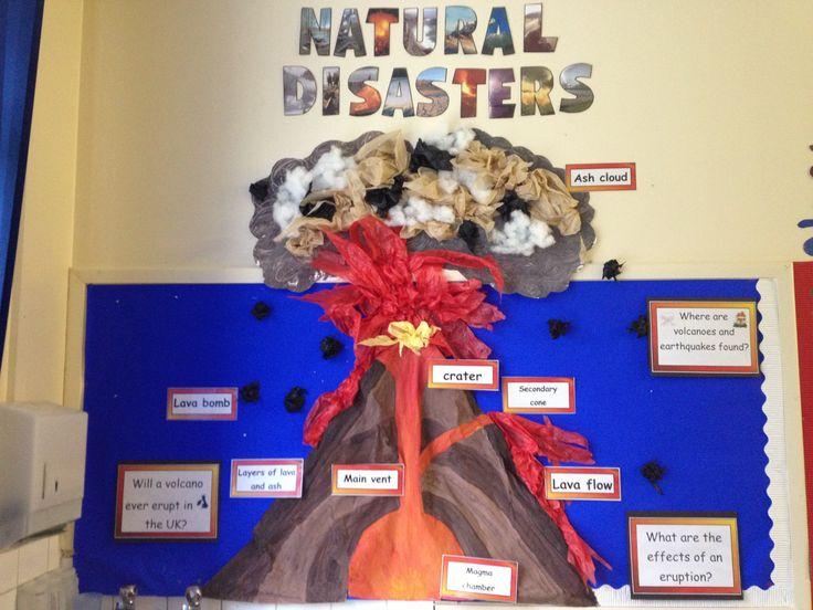 Natural disasters display