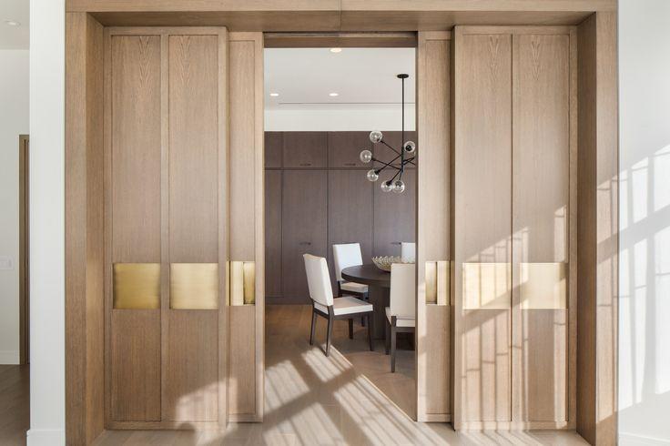258 best images about home doors on pinterest for Hidden sliding screen door
