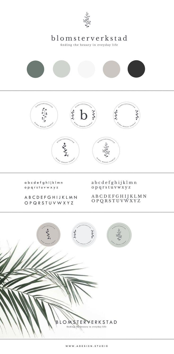 Branding - Blomsterverkstad a d e s i g n. s t u d i o