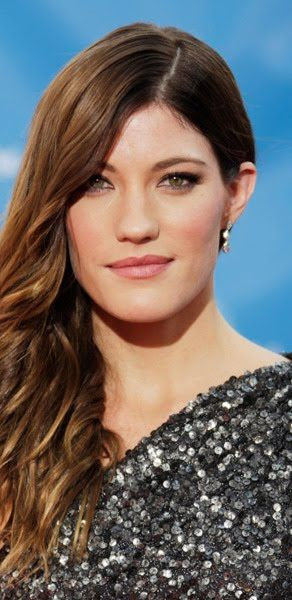 jennifer carpenter | Jennifer Carpenter gun-metal sequined Oday Shakar one-shouldered dress ...