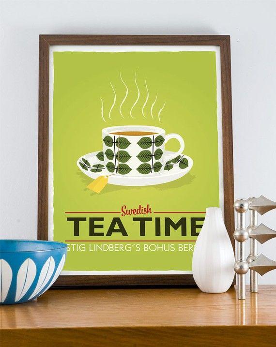 Stig Lindberg - Swedish Tea time{love Stig Lindberg Ceramics}