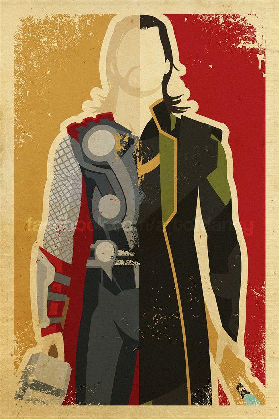 Asgardians by artofdanny on Etsy                                                                                                                                                                                 Mais