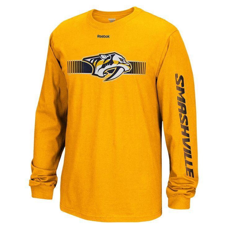 Nashville Predators Smashville Long Sleeve T-shirt ...