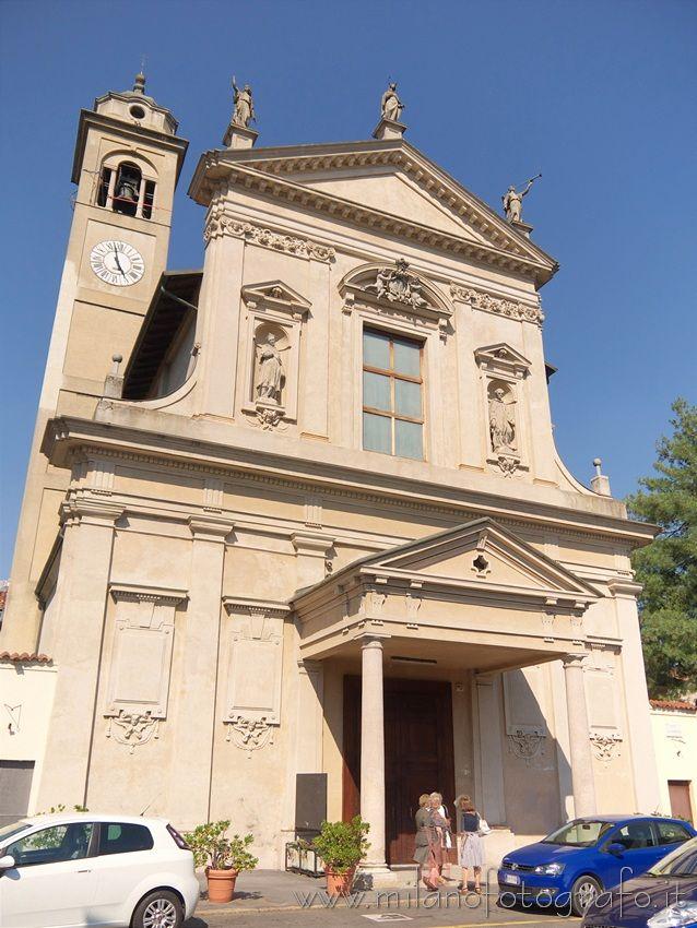 Milan (Italy): Facade of the Church of Santa Maria Assunta Al Vigentino